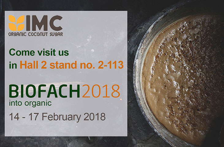 Biofach 2018, Nuremberg, Germany