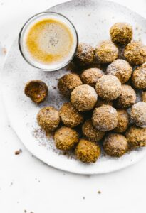 Delicious Coconut Sugar Cinnamon Cake Bites