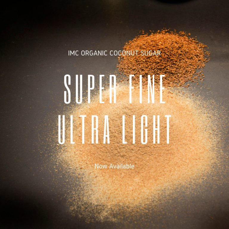 Super Fine Ultra Light Organic Coconut Sugar NOW AVAILABLE!